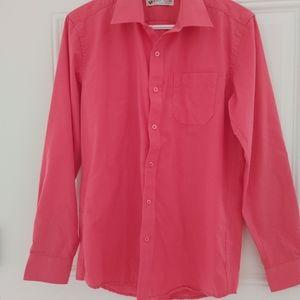 Coral colour blouse